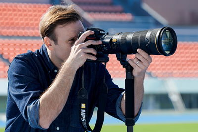 Sportfotografie Teleobjektiv