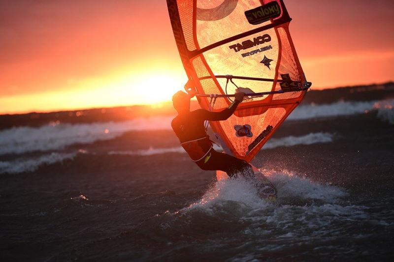 Sportfotografie Surfer
