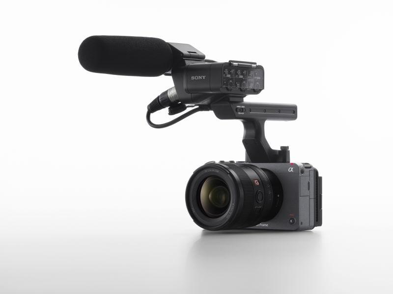 Sony FX3 Mikrofonanschlüsse