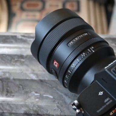 Sony FE 14mm 1.8. G Master Check