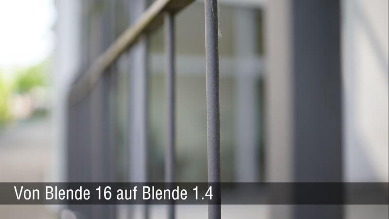 35mm Blende 1.4