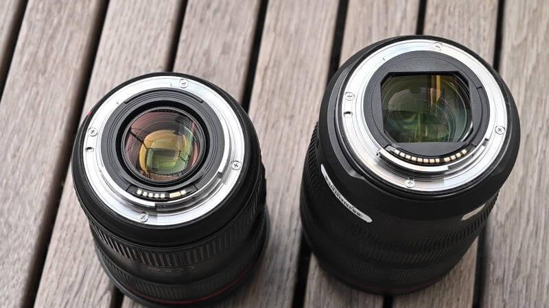 Canon RF Objektive Sensor