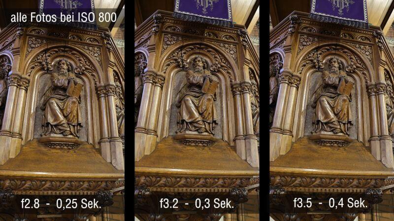 Canon Trinity Belichtungszeiten