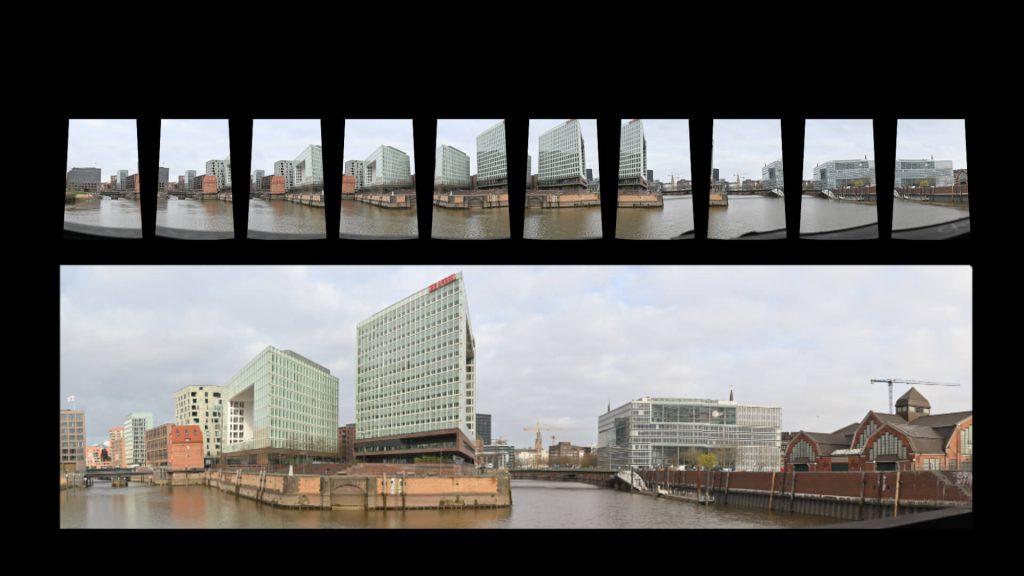 Panoramafotografie Stitching