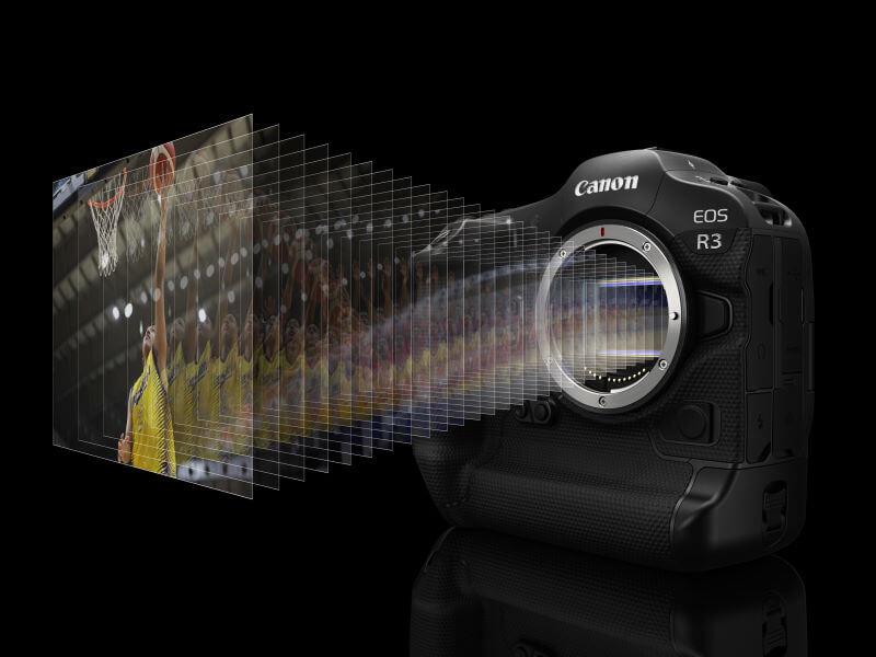 Highspeed Canon EOS R3