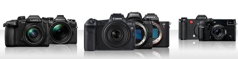 Kaufberatung für Systemkameras bei Calumet