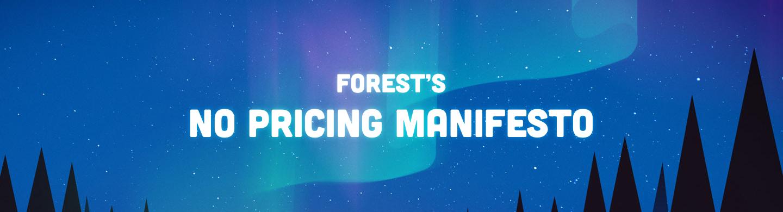 The No Pricing Manifesto