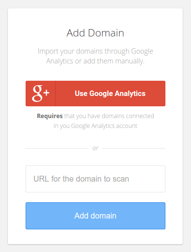 Add domain with Google Tag Manager