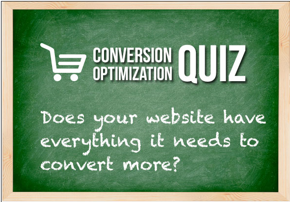 conversion optimization quiz