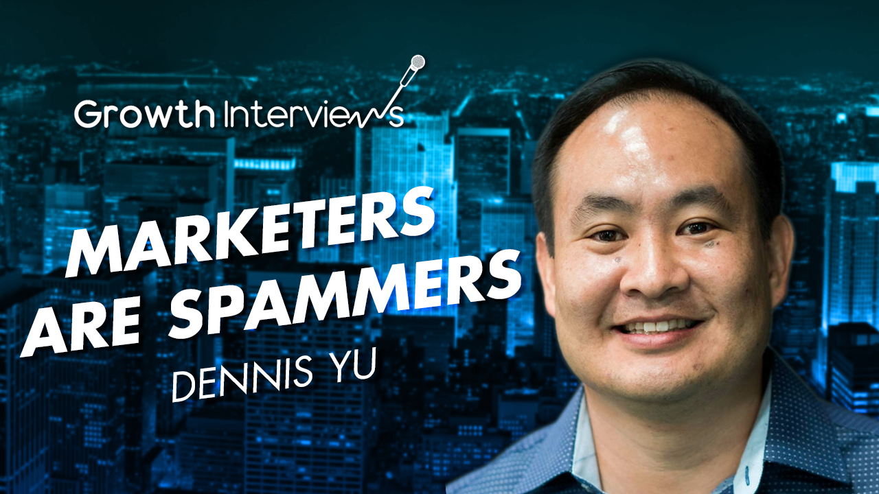 Dennis Yu marketers are spammers