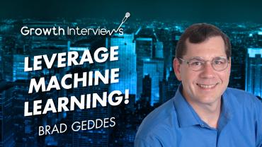 Brad Geddes leverage machine learning