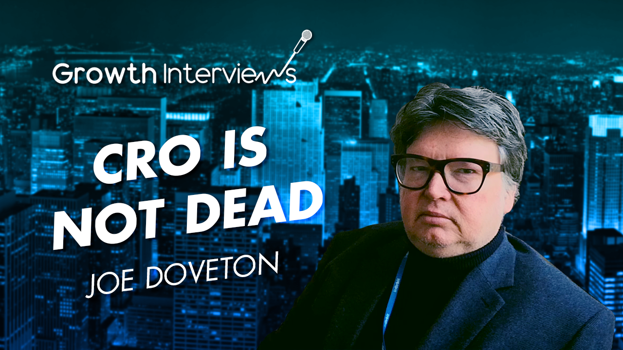 Joe Doveton CRO is not dead