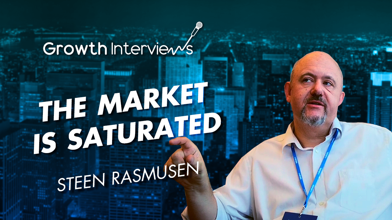 Steen Rasmussen the market is saturated