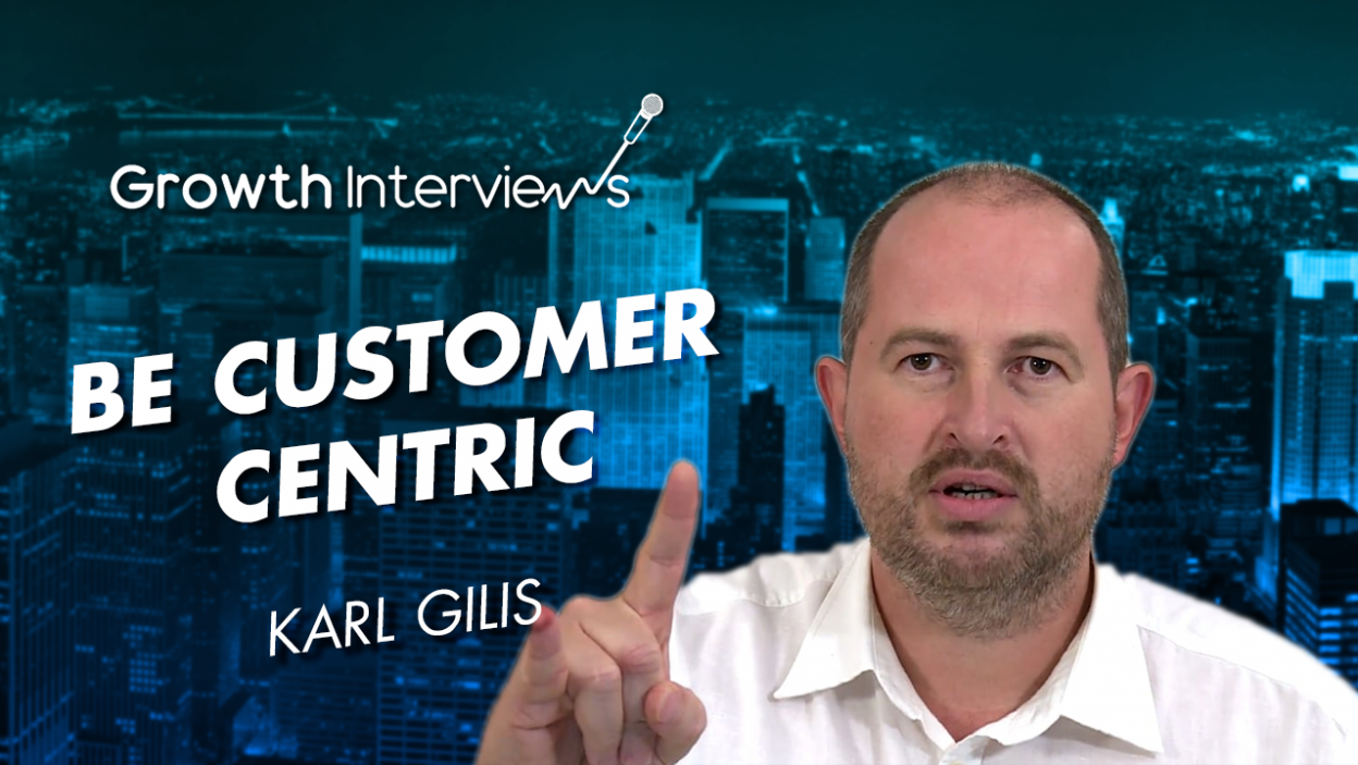 Karl Gilis Customer retention is the most important thing businesses should focus on