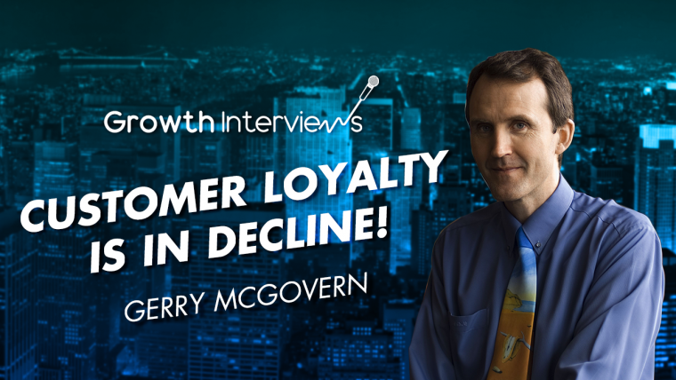 Gerry McGovern Why e-commerce businesses should stop focusing on potential customers