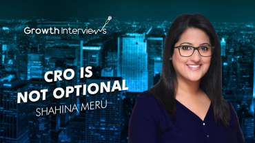 Shahina Meru CRO is no longer optional
