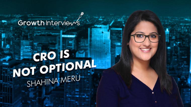 Shahina Meru CRO is no longer optional