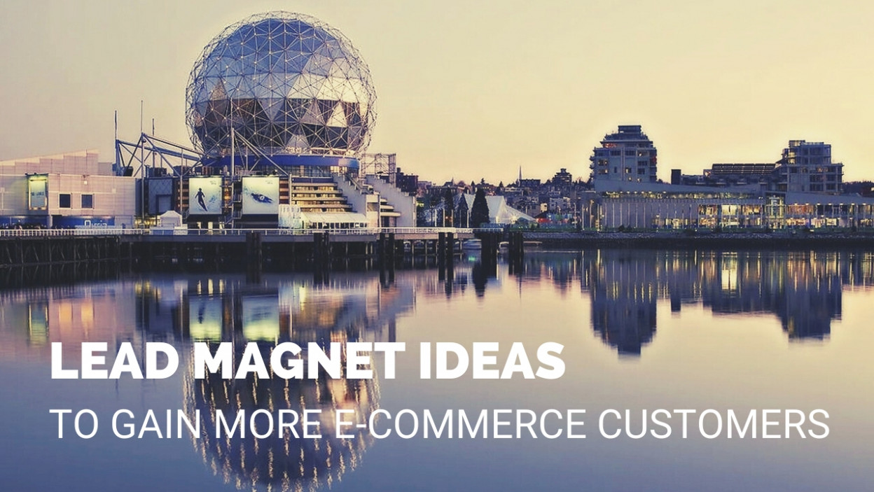 LEAD MAGNET IDEAS TO GAIN MORE E-COMMERCE CUSTOMERS