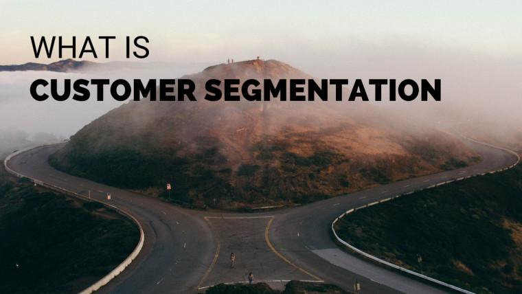 WHAT IS CUSTOMER SEGMENTATION