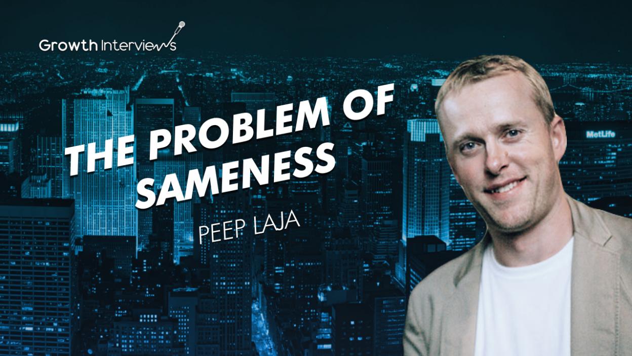 Peep Laja CRO entrepreneurship