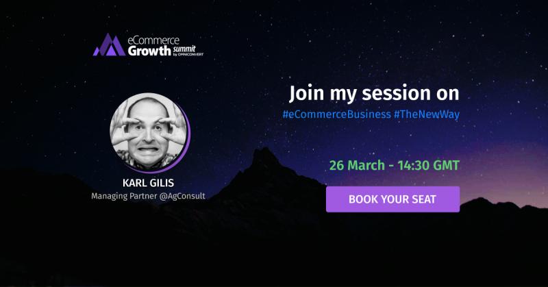 karl gilis ecommerce growth summit