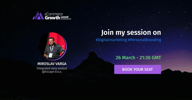 miroslav varga ecommerce growth summit