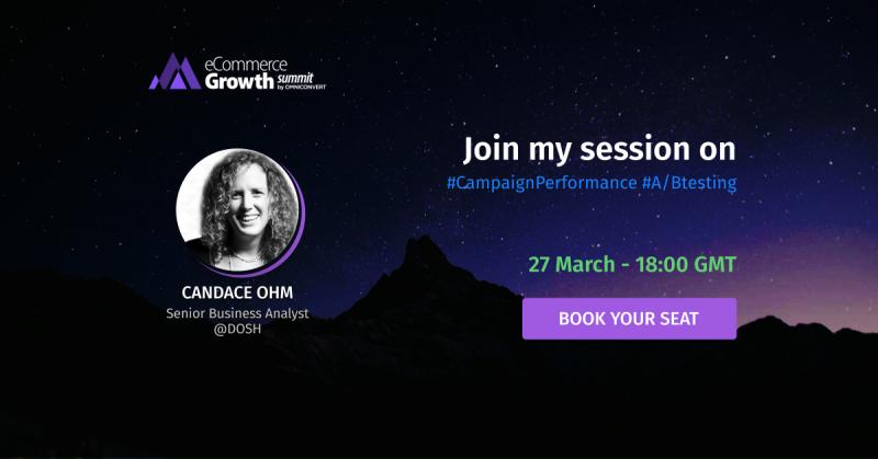 candace ohm ecommerce growth summit