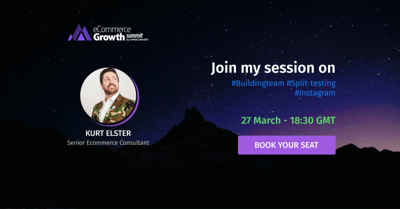 kurt elster ecommerce growth summit
