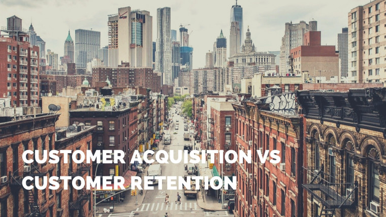 customer acquisition vs customer retention