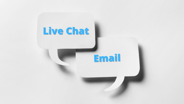 How to Start Using Live Chat & Email to Level Up Your Customer Service Game