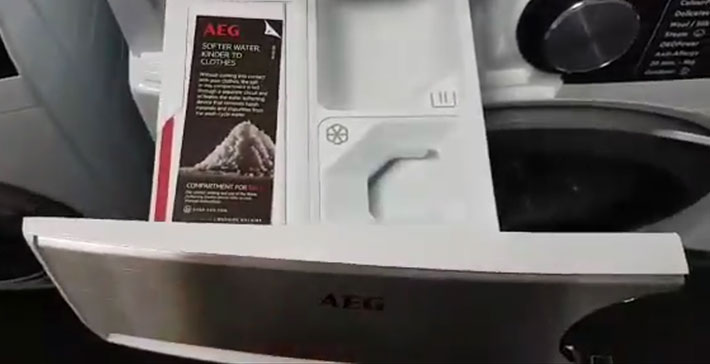 AEG L9FEC946R Washing Machine Detergent Drawer