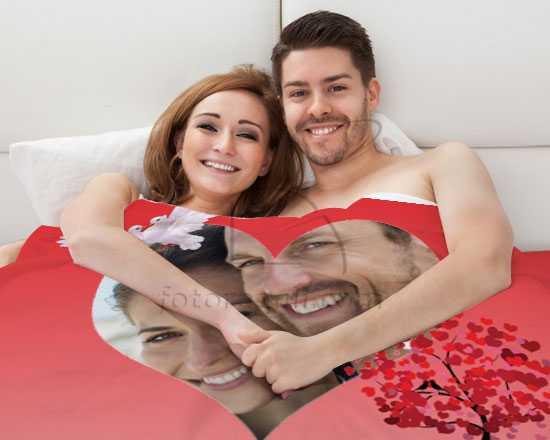 Coperta Personalizzata Con Foto.Crea Una Coperta Con Foto Per San Valentino