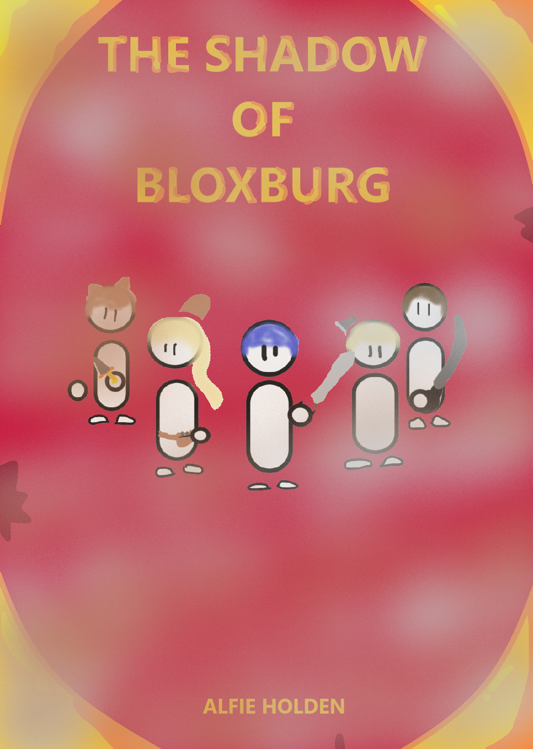 The Shadow of Bloxburg Front Cover