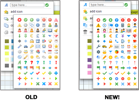 New Colors And Icons For Your Toms Planner Online Gantt Chart