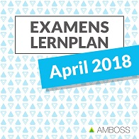 Examenslernplan: April 2018