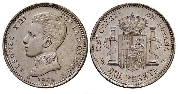Variantes monedas de plata del Centenario de la Peseta