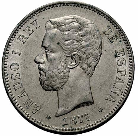 El duro de 1871 (18-72)