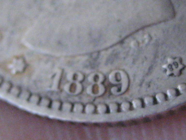 Las pesetas de 1889 y de 1891