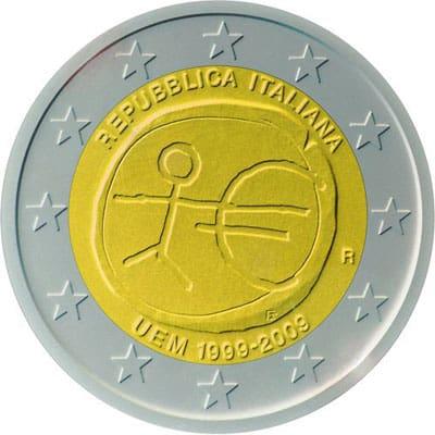 Coleccionando monedas de 2 euros