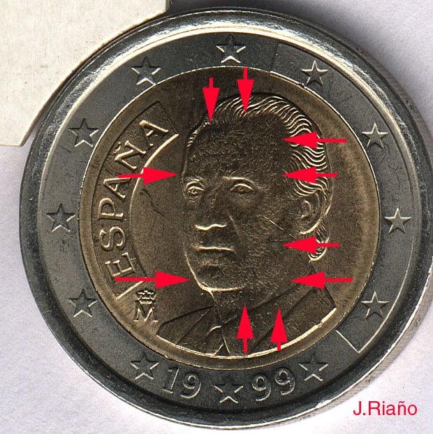 Coleccionando monedas con errores