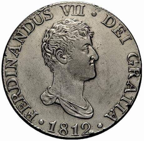 Los retratos de Fernando VII en los 8 reales