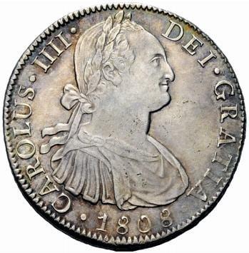 Las monedas de 1808