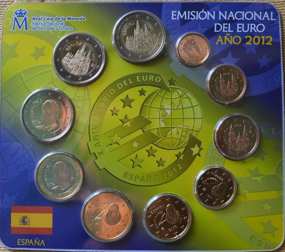 Errores de empaquetado en la carteras de 2012 de España