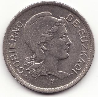 Las Monedas de Euzkadi de 1937