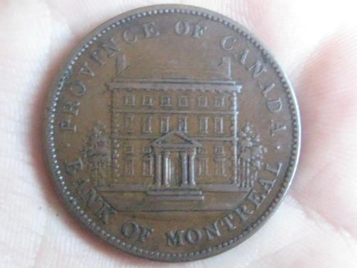 Coleccionar tokens coloniales de Canadá