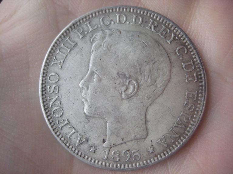 1 peso Puerto Rico 1895