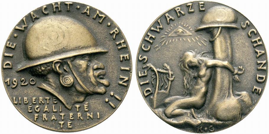 medalla fea