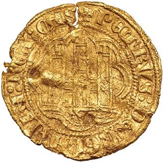 15 maravedis Pedro I