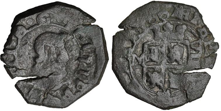 8 maravedís Valladolid 1661