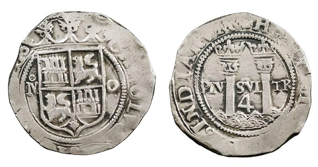 4 reales Mexico Juana y Carlos